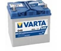 Аккумулятор 6ст - 60 (Varta) D48 Blue Dynamic Asia . 560 411 054 - пп