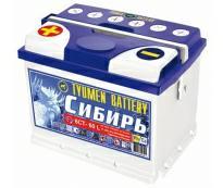 Аккумулятор 6ст - 60 (Тюмень) L Сибирь