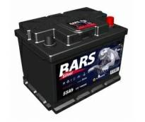 Аккумулятор 6ст - 55 АПЗ (Bars Silver)  - пп