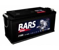 Аккумулятор 6ст - 210 АПЗ (Bars Silver) болт