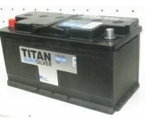 "Аккумулятор 6ст - 110 Titan Euro Silver - пп (Нижний Новгород ""Titan"")"