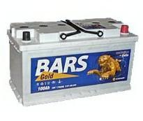 Аккумулятор 6ст - 100 АПЗ (Bars Gold)  - пп