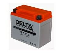 Аккумулятор 6мтс - 12 (Delta CT 1212) 510 012 009/YTX12-BS/YTX14-BS