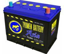 Аккумулятор 6ст - 75 (Тюмень) АПЗ Азия  - оп
