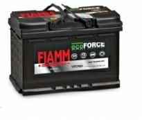 Аккумулятор 6ст - 80 (Fiamm) серия Ecoforce AGM  - oп