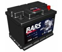 Аккумулятор 6ст - 75 АПЗ (Bars Silver)  - оп