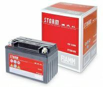 Аккумулятор 6мтс - 8 (Fiamm) STORM  AGM FT9-BS  /509 902 008/