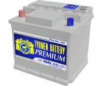 Аккумулятор 6ст - 50 (Тюмень) L Premium пп