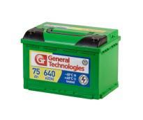 Аккумулятор 6ст - 75 General Technologies (Курск) пп