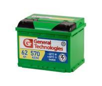 Аккумулятор 6ст - 62 General Technologies (Курск) пп