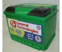 Аккумулятор 6ст - 55 General Technologies (Курск) - оп