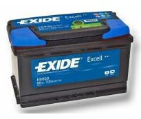 Аккумулятор 6ст - 80 (Exide Exell)  - низк. оп