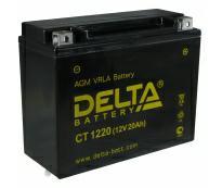 Аккумулятор 6мтс - 20 (Delta CT 1220) YTX24HL-BS/Y50N18L-A