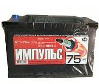 "Аккумулятор 6ст - 75 (Свирск ""АкТех"")  R Импульс оп"