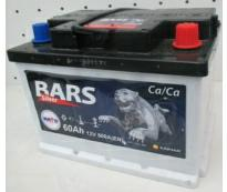 Аккумулятор 6ст - 60 АПЗ (Bars Silver)  низкий- оп