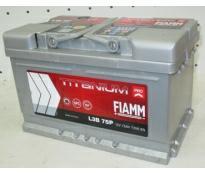 Аккумулятор 6ст - 75 (Fiamm) серия Titanium Pro низк. оп