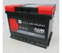 Аккумулятор 6ст - 60 (Fiamm) серия Titanium Black - оп