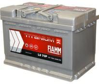 Аккумулятор 6ст - 70 (Fiamm) серия Titanium Pro оп