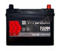 Аккумулятор 6ст - 45 (Fiamm) серия Titanium Black Asia - станд. выводы оп