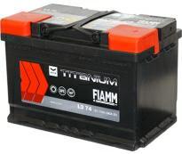 Аккумулятор 6ст - 74 (Fiamm) серия Titanium Black  - оп