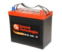 Аккумулятор 6ст - 50 General Technologies ASIA (Бор) - тонк.и ст. выв. оп