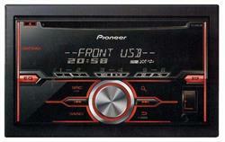 Проигрыватель cd, mp3 4х50вт, usb, 2din Pioneer FH-X380UB
