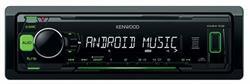 Радиоприемник автомобильный, 4х50вт, usb Kenwood KMM-102GY
