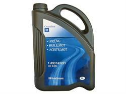 GM OIL, ENG General Motors 93743721