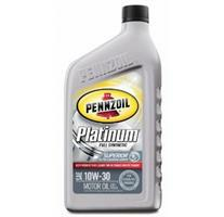 Platinum Full Synthetic Motor Oil Pennzoil 071611915106