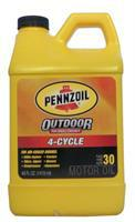 4-Cycle OUTDOOR Motor Oil Pennzoil 071611035873