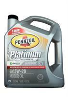 Platinum Full Synthetic Motor Oil Pennzoil 071611008174