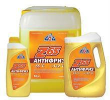 """Жидкость охлаждающая 5л. """"Z65"""", жёлтая"""