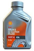 Brake & Clutch Fluid DOT4 ESL Shell 5011987212008