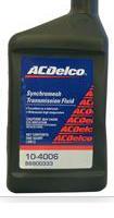 SYNCHROMESH TRANSMISSION FLUID AC Delco 10-4006