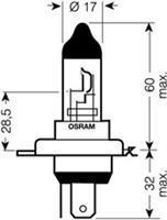 Лампа Osram 64193NBU-02B