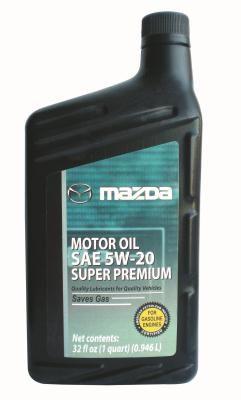 Масло моторное Mazda Super Premium SAE 5W-20