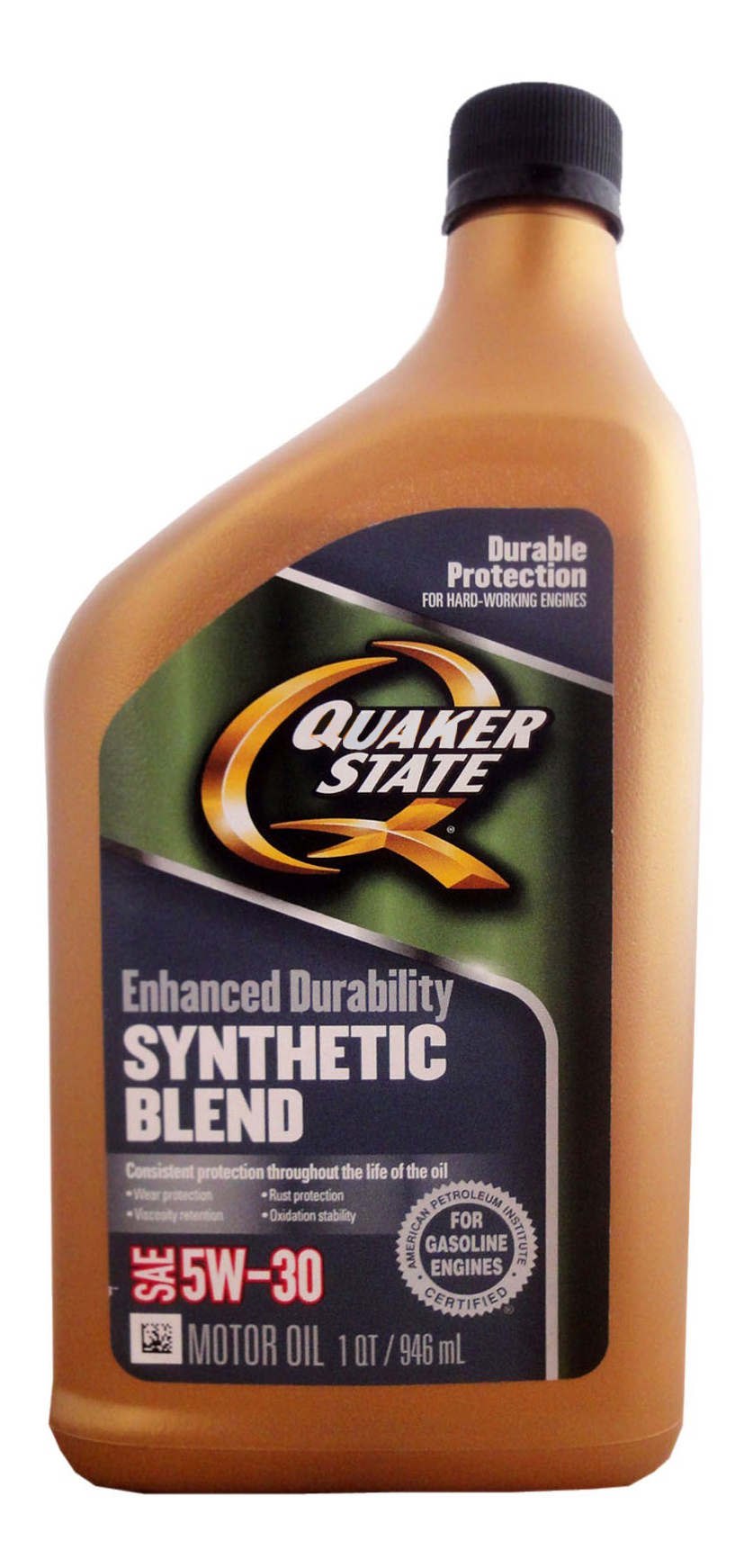 Quaker State Enhanced Durability SAE 5W-30 Synthetic Blend Motor Oil
