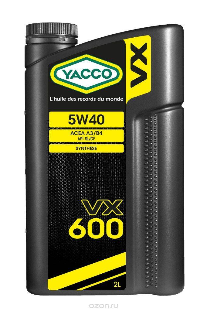VX 600 Yacco 302924