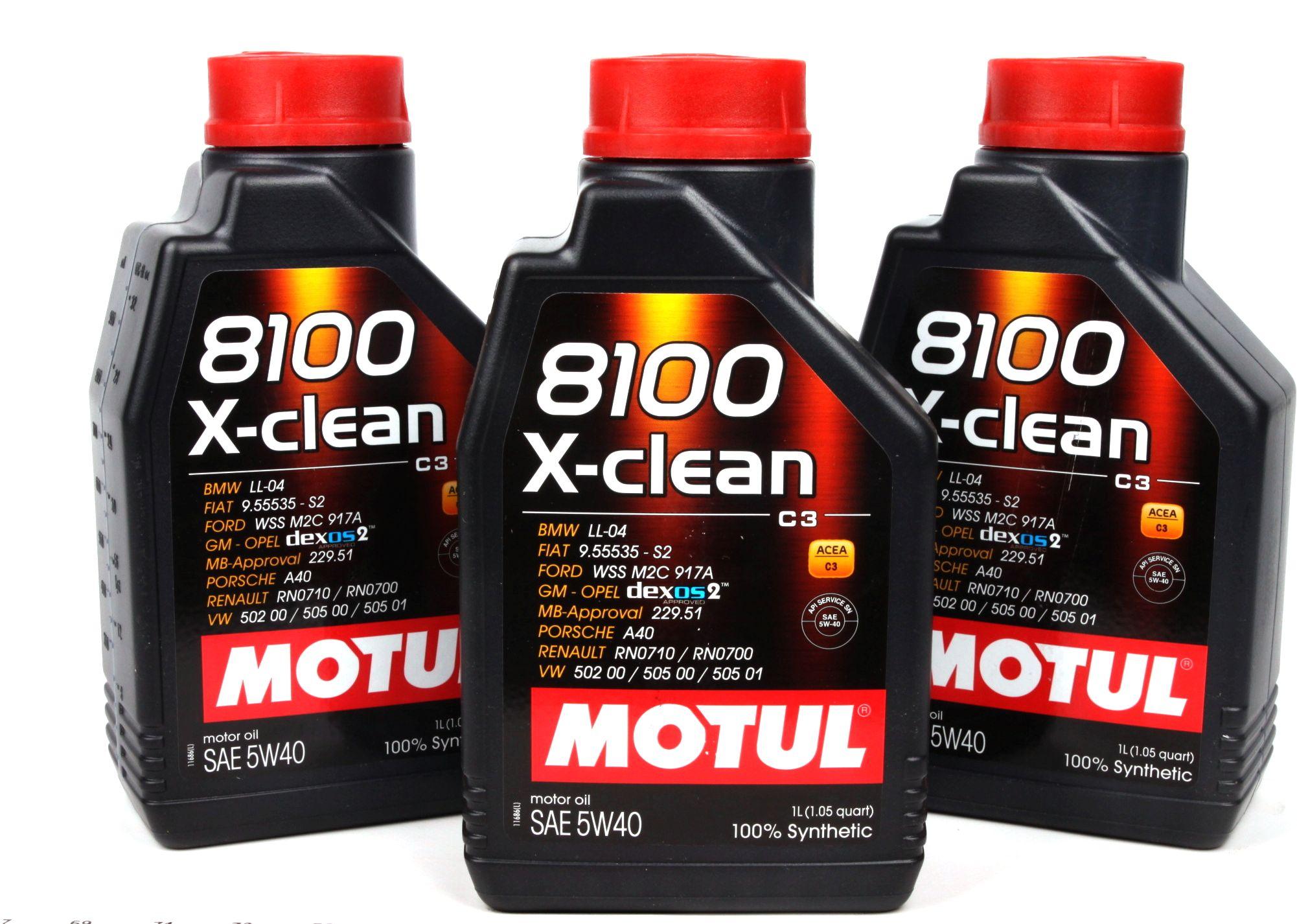 8100 X-clean Motul 102786