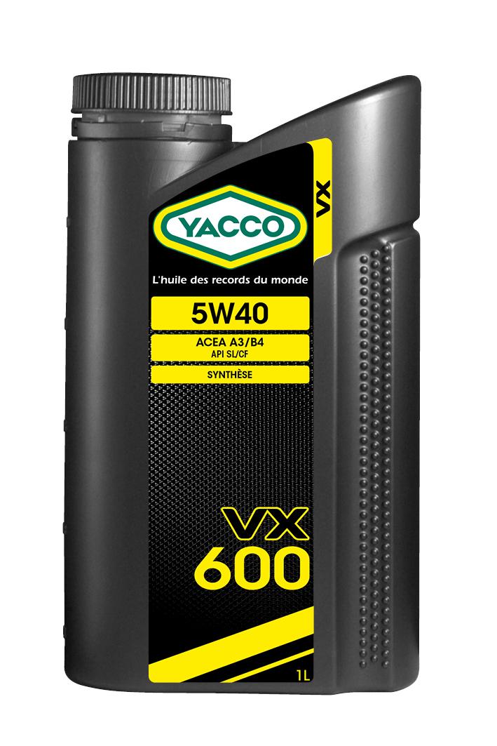 VX 600 Yacco 302925