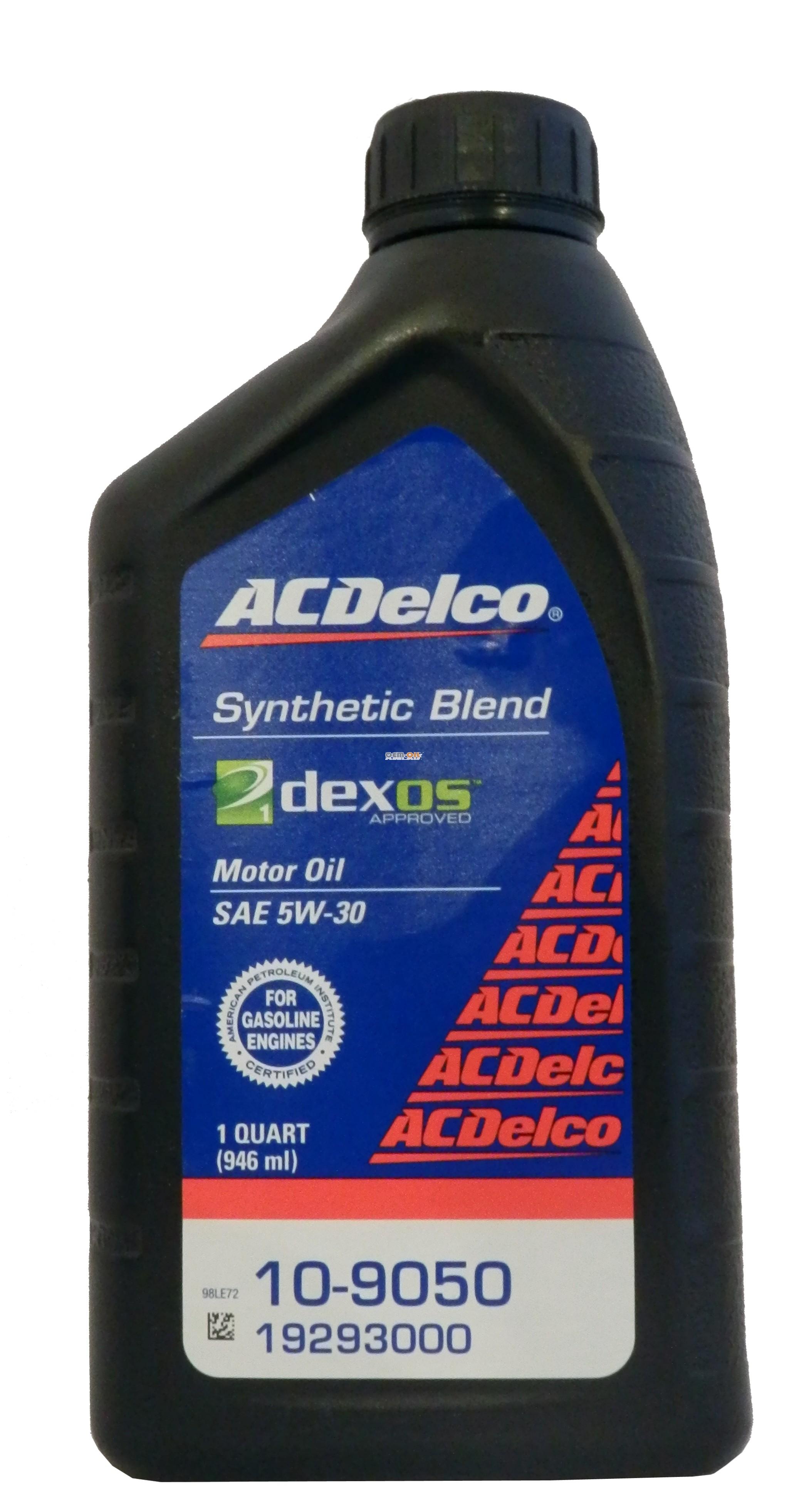General Motors AC Delco Dexos 1 Synthetic Blend 5W-30
