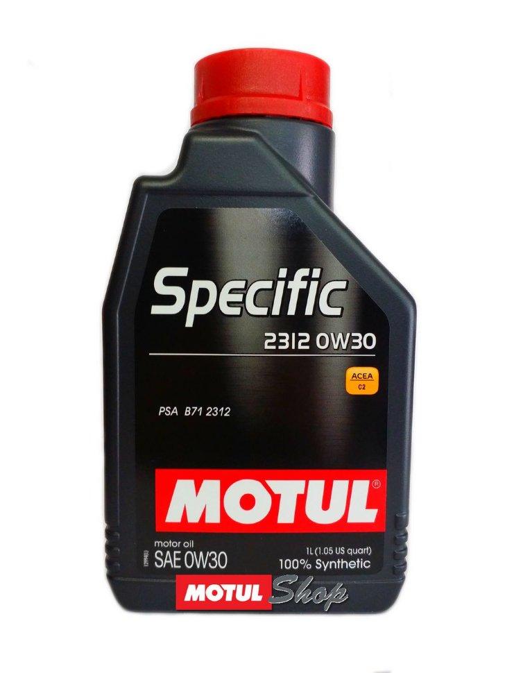 Specific 2312 Motul 105752