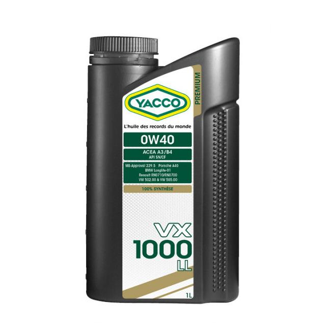 VX 1000 LL Yacco 306225