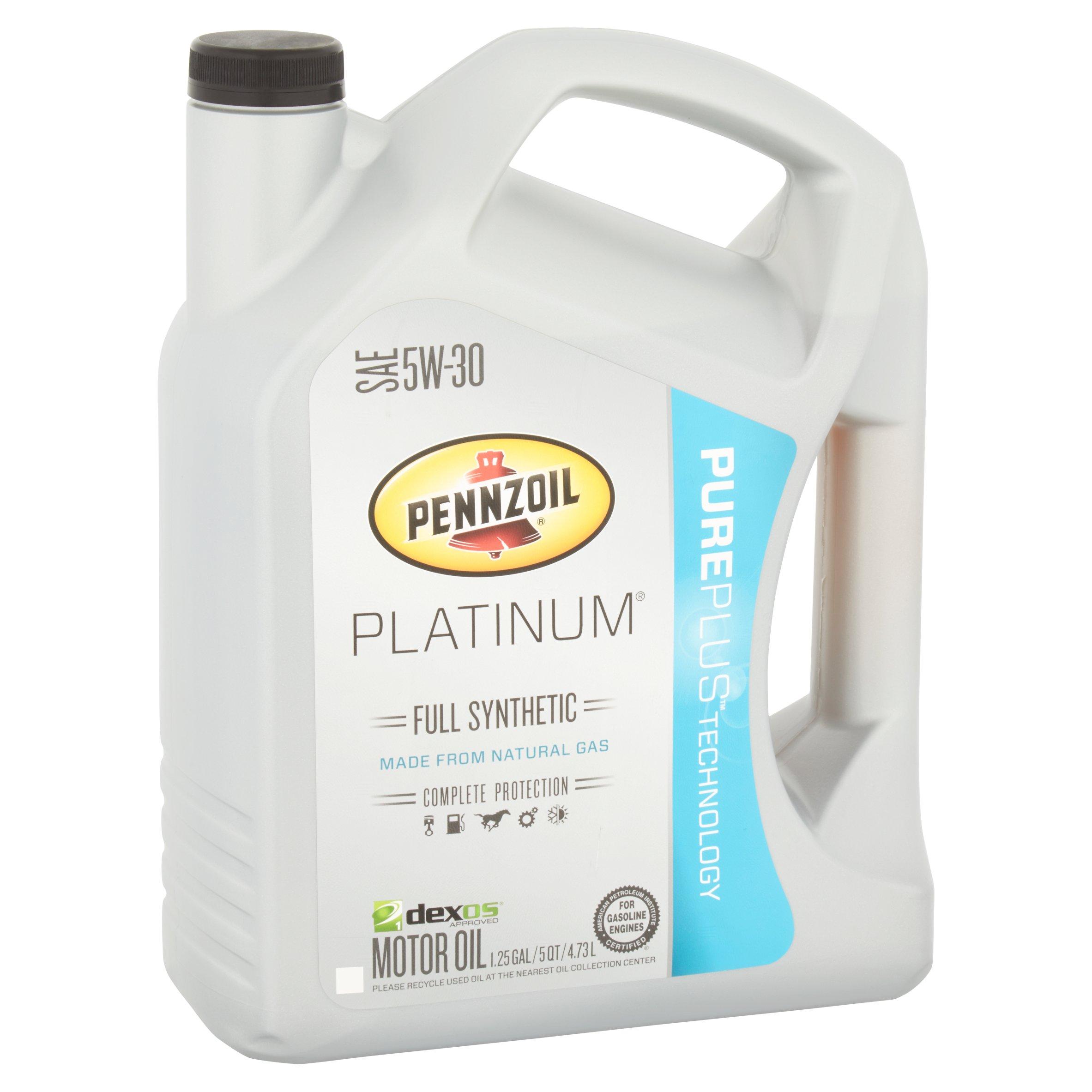 Pennzoil Platinum SAE 5W-30 Full Synthetic
