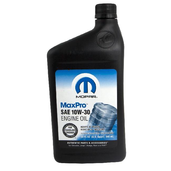 Mopar MaxPro SAE 10W-30