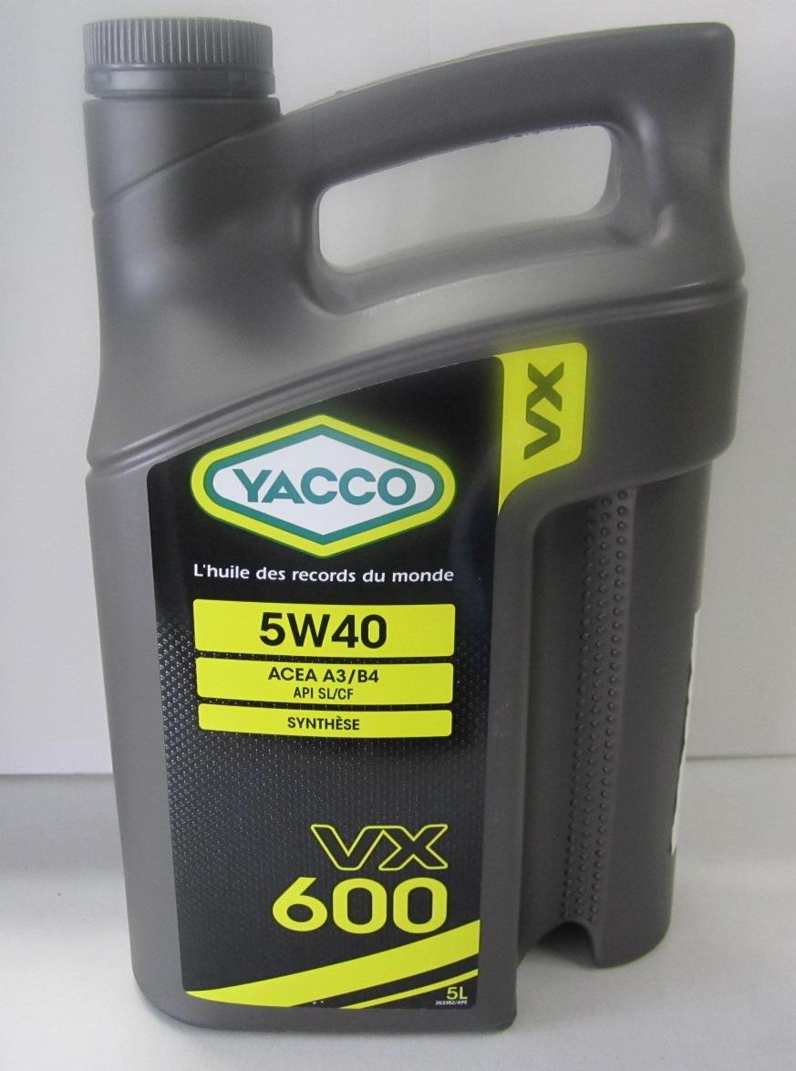 VX 600 Yacco 302922