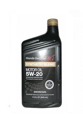 Honda Synthetic Blend SAE 5W-20