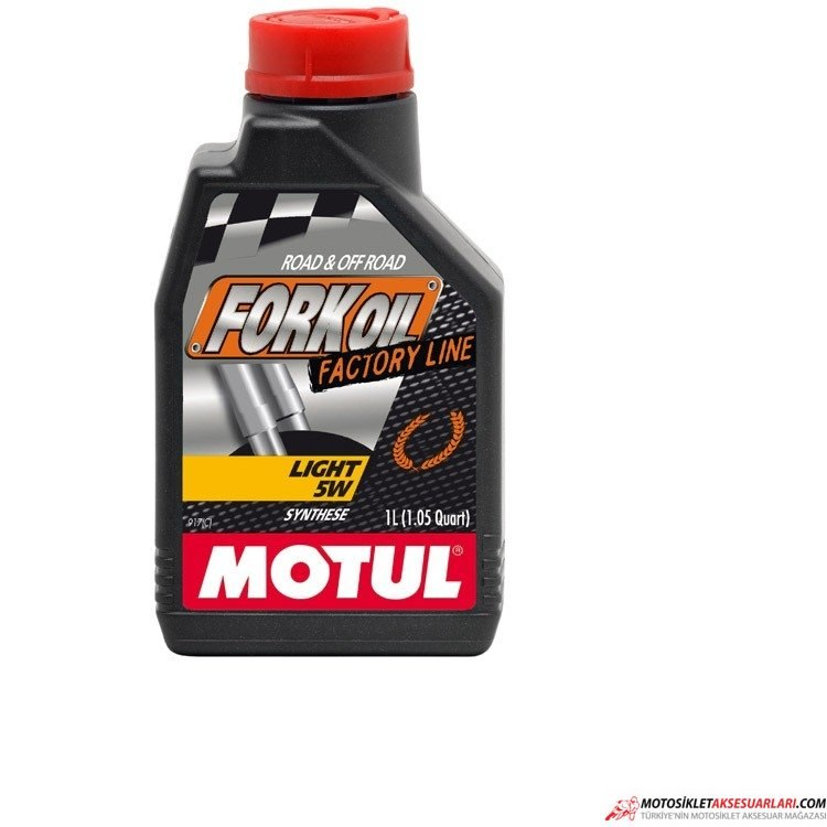 Fork Oil light Factory Line Motul