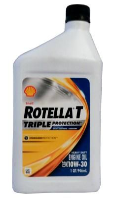 Масло моторное Shell Rotella T Triple Protection 10W-30