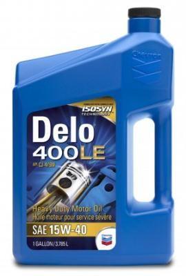 Масло моторное Chevron Delo 400 LE SAE 15W-40